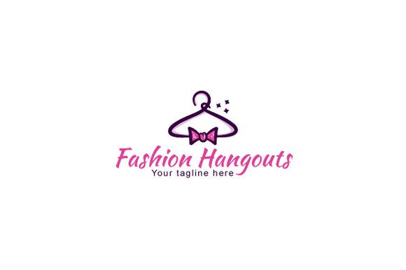 Fashion Hangouts Stock Logo