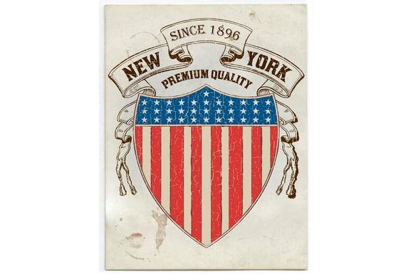 Vector Vintage American Label