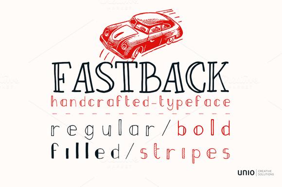 Fastback Font Family