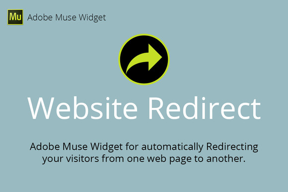 Website Redirect Adobe Muse Widget