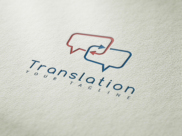 Translation Logo Template