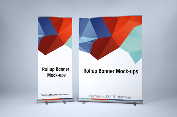 ROLLUP BANNER MOCK-UP