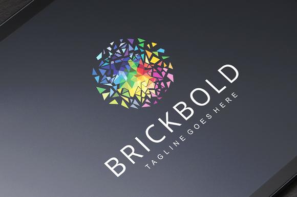 BRICKBOLD Logo Template