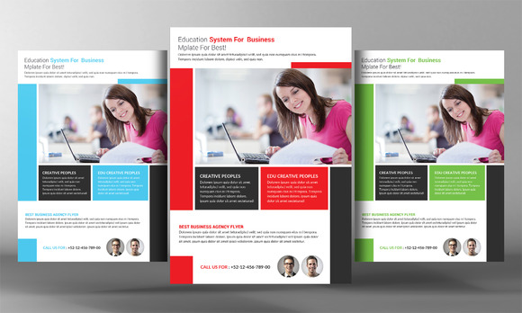 High School Education Flyer Template