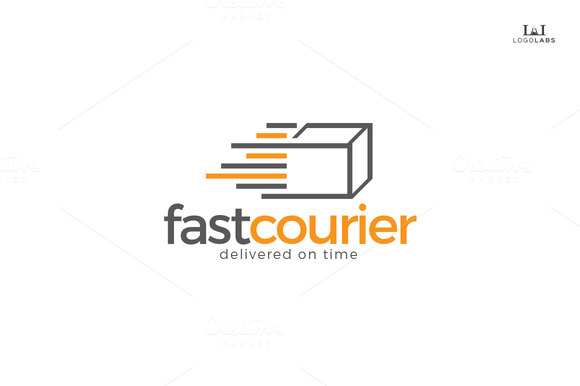 Fast Courier Logo