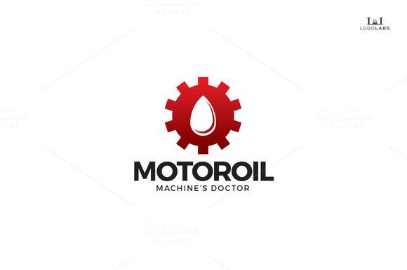 Motor Oil Logo