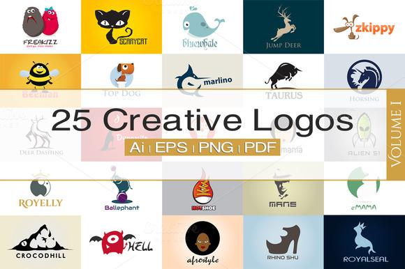 25 Creative Logos