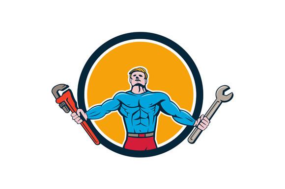 Superhero Handyman Spanner Wrench Ci