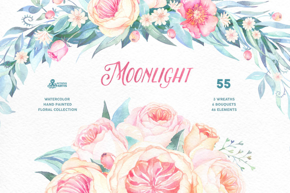 Moonlight Floral Collection