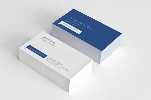 Simple Minimal Corporate Card