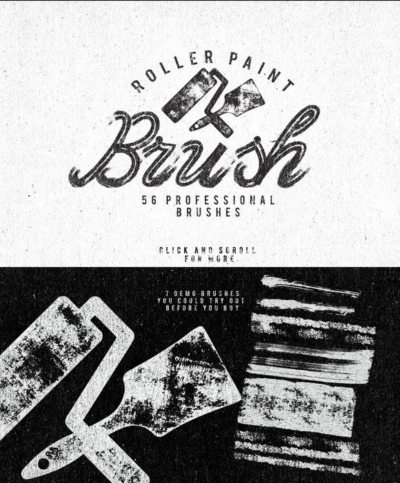 Roller Paint Brush Bonus