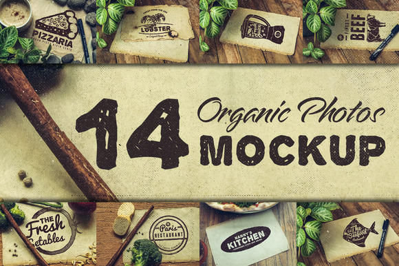 Organic Photos Mockup