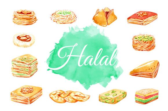 Halal Food Eastern Sweets