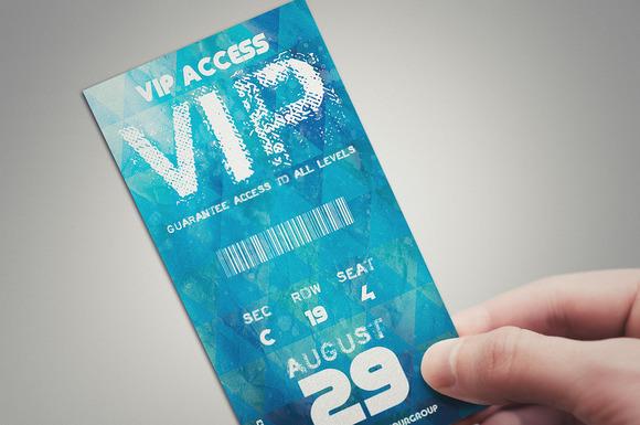 Blue Summer VIP PASS CARD