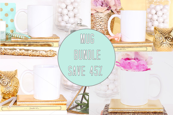 SALE Mug Stock Photo Bundle