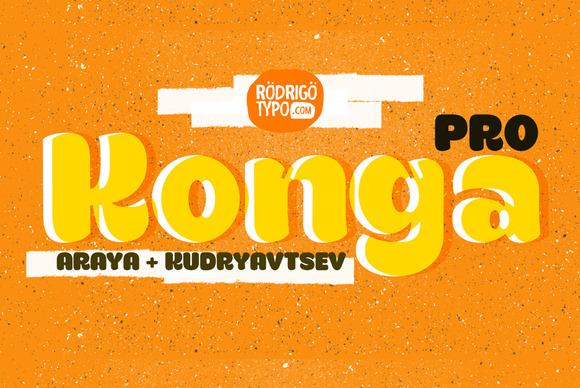 Konga Pro Cyrillic
