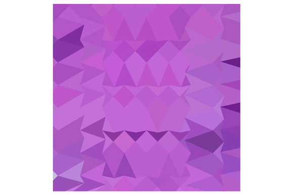 Bright Lavender Abstract Low Polygon