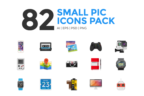 Small Pic Icons Pack