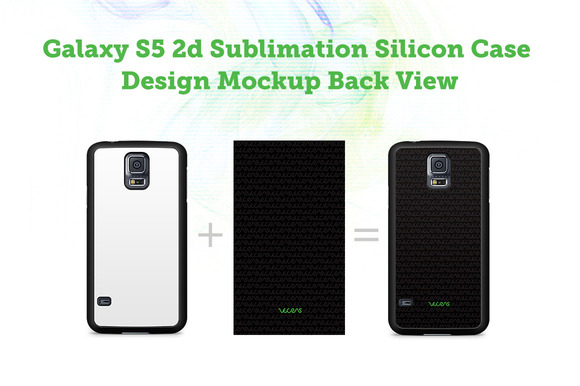 Galaxy S5 2d Silicon Case Mock-up