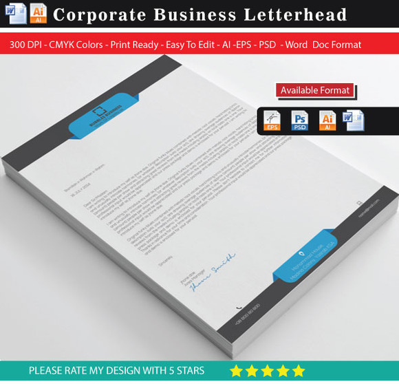 Proposal Letterhead