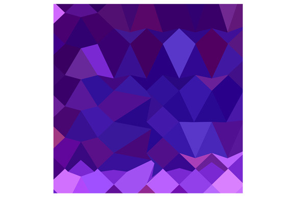 Eminence Purple Abstract Low Polygon