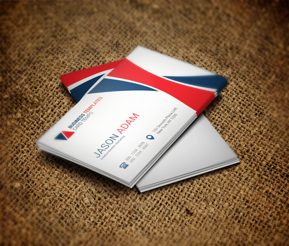 Visual Business Card Template