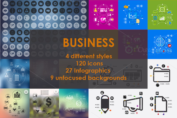 SUPERSET Of BUSINESS Icons 50% OFF