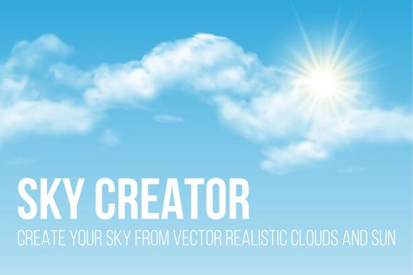 Sky Creator For Adobe Illustrator