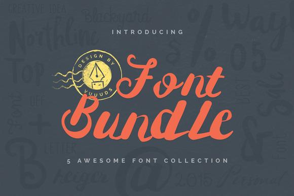 Best Font Bundle