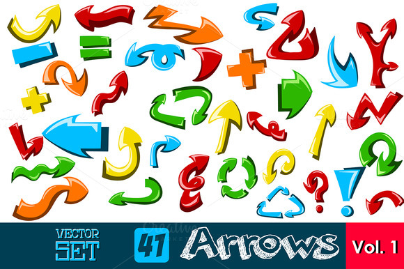 41 Hand Made Arrows Set Vol 1