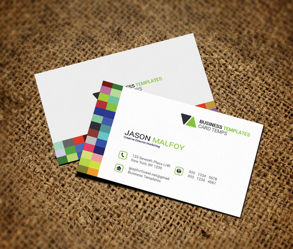 Metro Clean Business Card Template