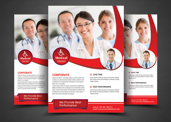 Health Medical Doctors Template