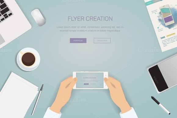 Design Concept Of Creative Office