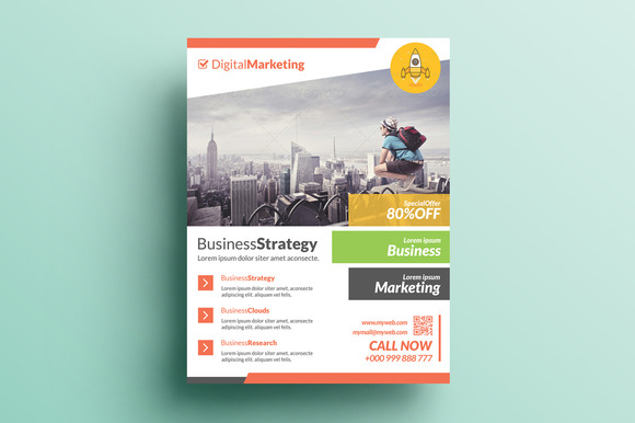 Creative Corporate Flyer V6