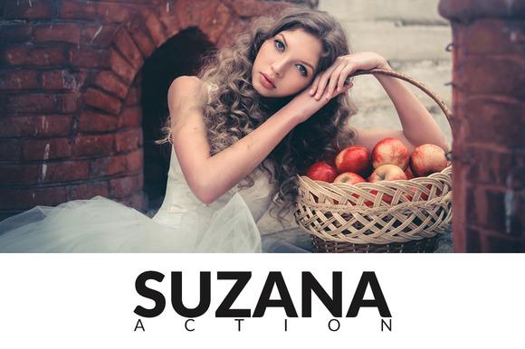 Suzana Photoshop Action