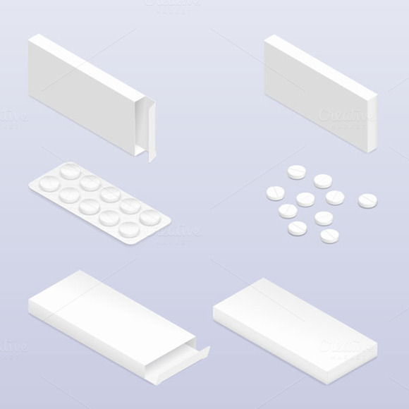 Tablets In Blister And Packaging