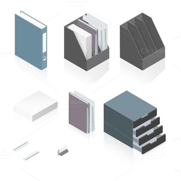 Files Folders Paper Stack Storage