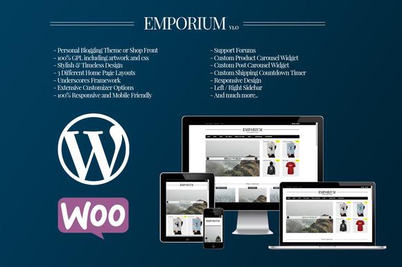 Emporium WordPress WooCommerce
