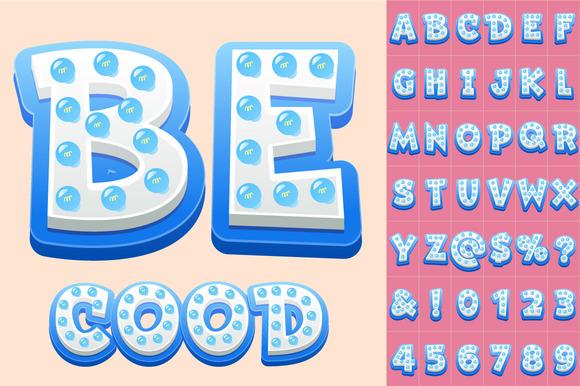 §іhildren S Vector Alphabet With Bulb