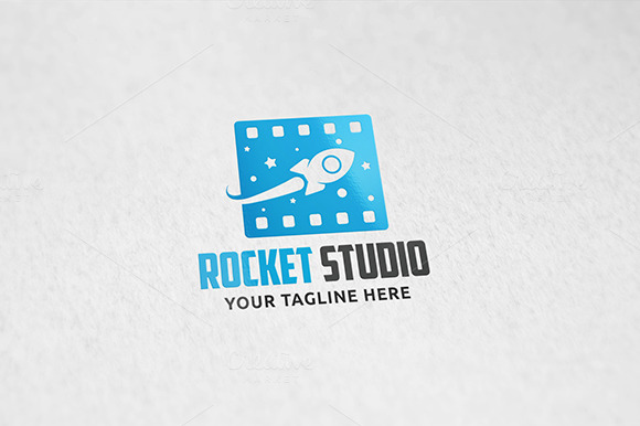 Rocket Studio Logo Template
