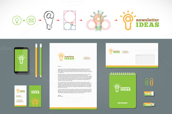 Newsletter Ideas Logo And Stationary