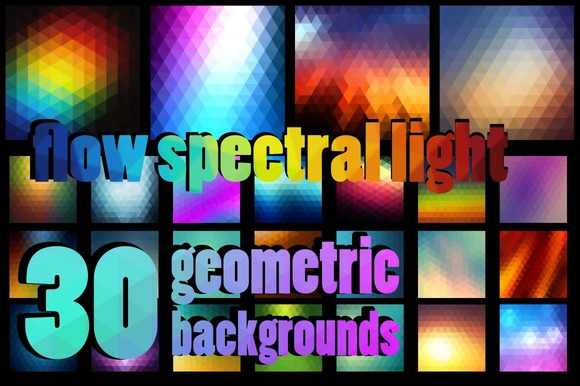 30 Vector Backgrounds Flow Light