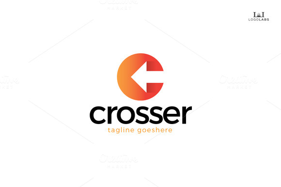 Crosser Letter C Logo