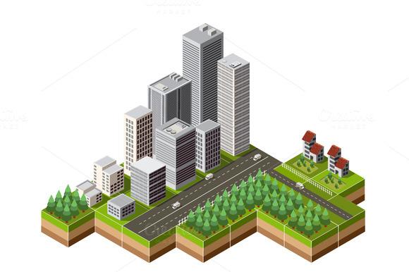 Isometric City Center
