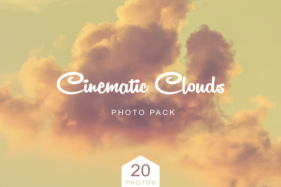 Cinematic Clouds Photo Pack