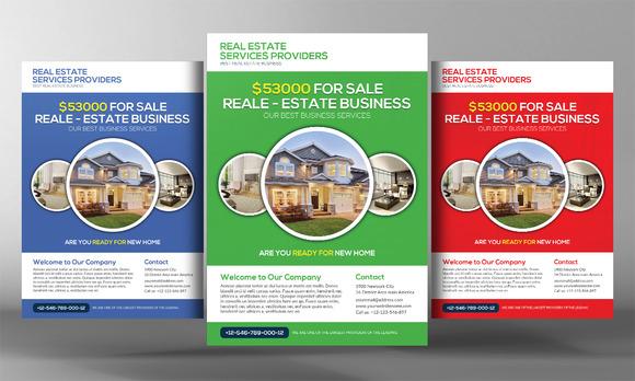 Premium Real Estate Flyer Template