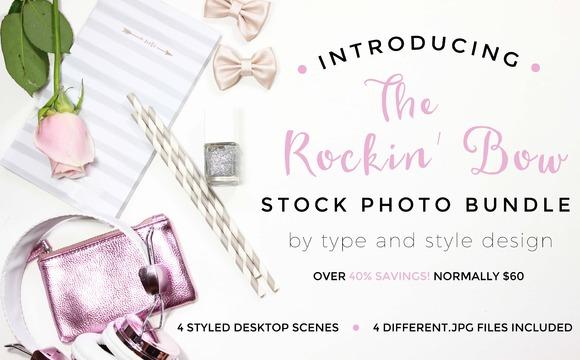 Stock Photo Bundle Rockin Bow