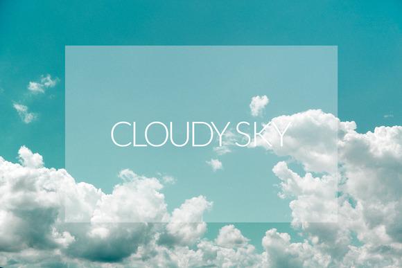 Cloudy Sky Set
