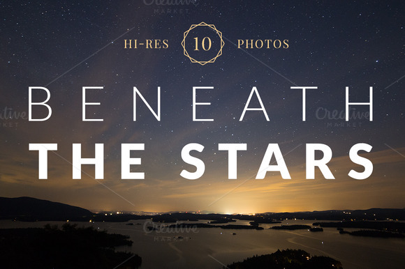 Beneath The Stars Photo Pack Of 10