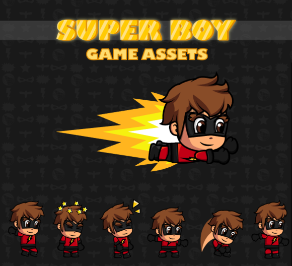Super Boy Game Assets